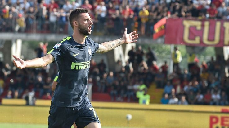 Marcelo Brozovic was Inter Milan's hero against Benevento.