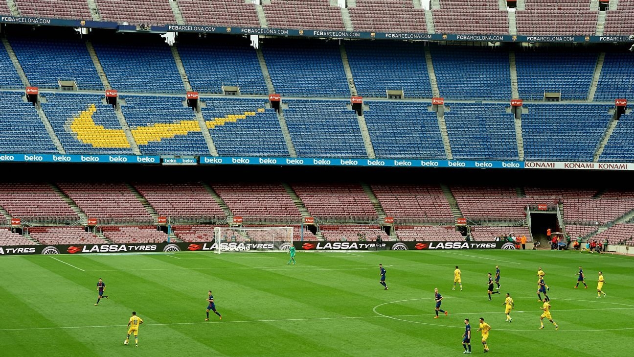 Empty Camp Nou