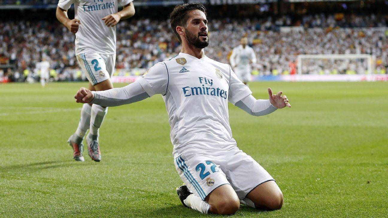Isco led Real Madrid to a 2-0 defeat of Espanyol on Sunday.