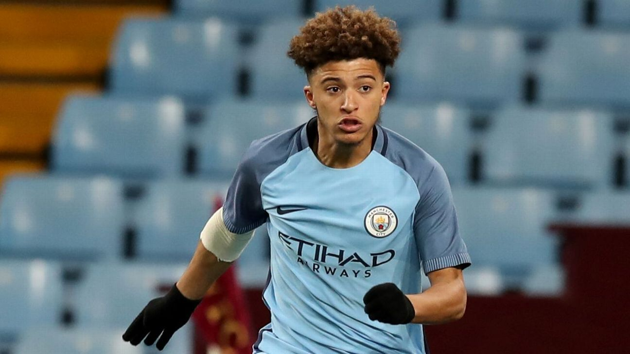 Jadon Sancho joined Borussia Dortmund from Manchester City for a reported €7 million.
