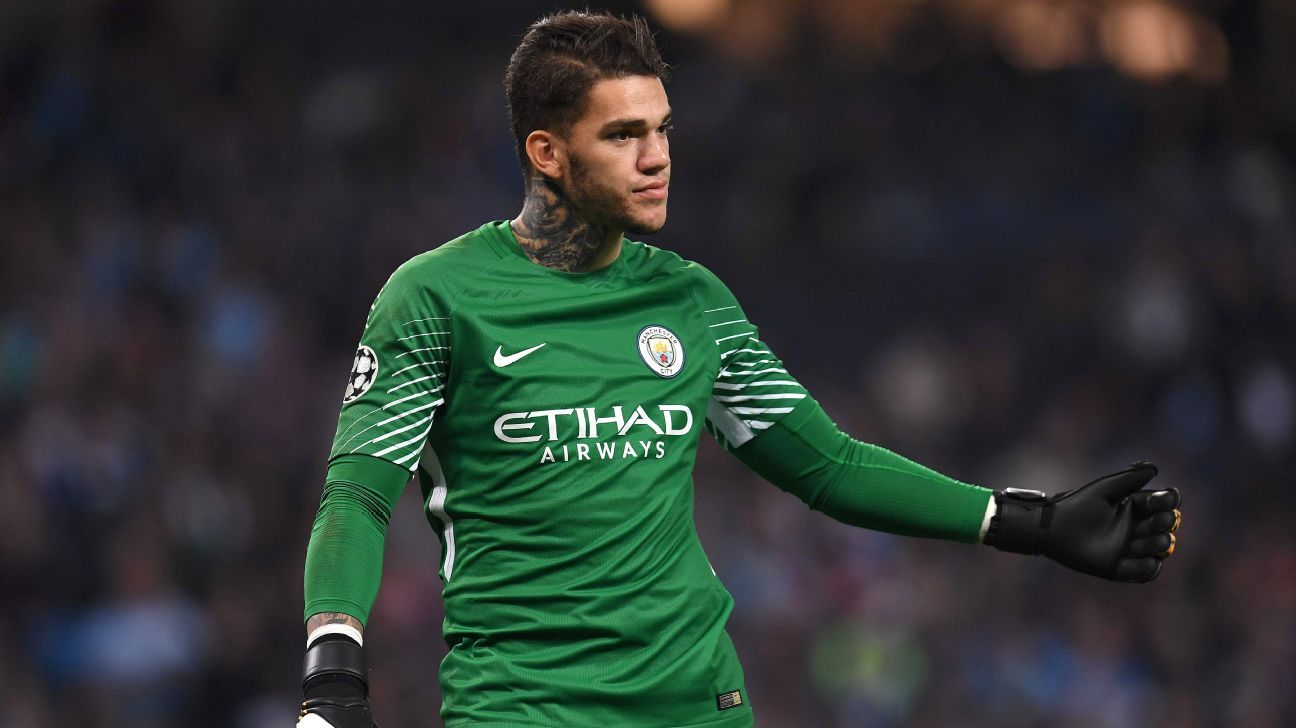Manchester City goalkeeper Ederson: I have no fear of