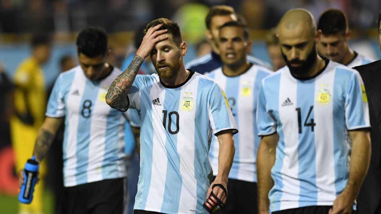 Argentina slumped to a goalless home draw against Peru.