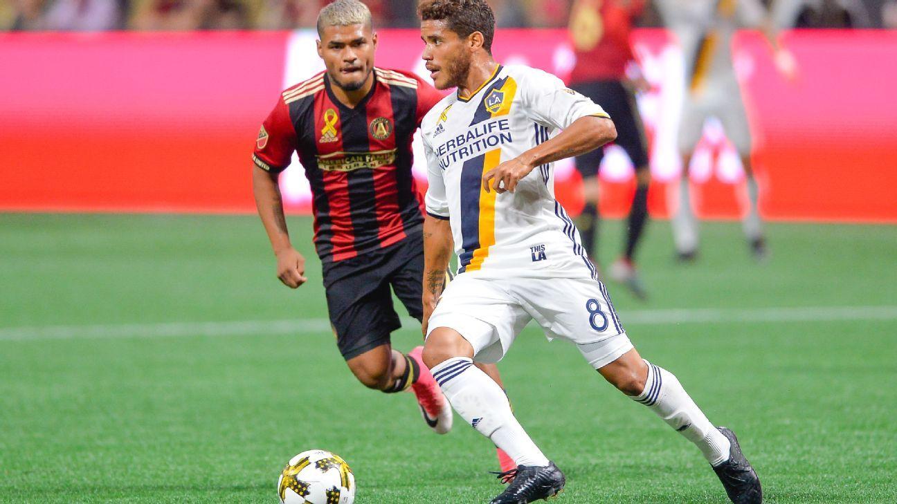 Jonathan Dos Santos LA Galaxy