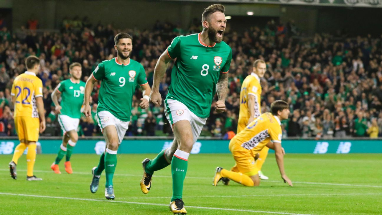 Republic of Ireland celebrated a comfortable 2-0 victory over Moldova on Friday.
