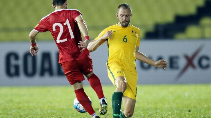 Matthew Jurman looks set to continue his dream debut Socceroos week after Bailey Wright's omission from the squad to face Syria.