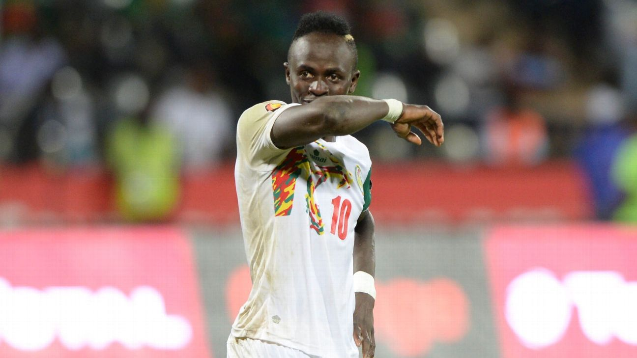 Sadio Mane of Senegal