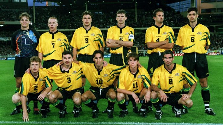 Australia 1997 playoff team vs. Iran