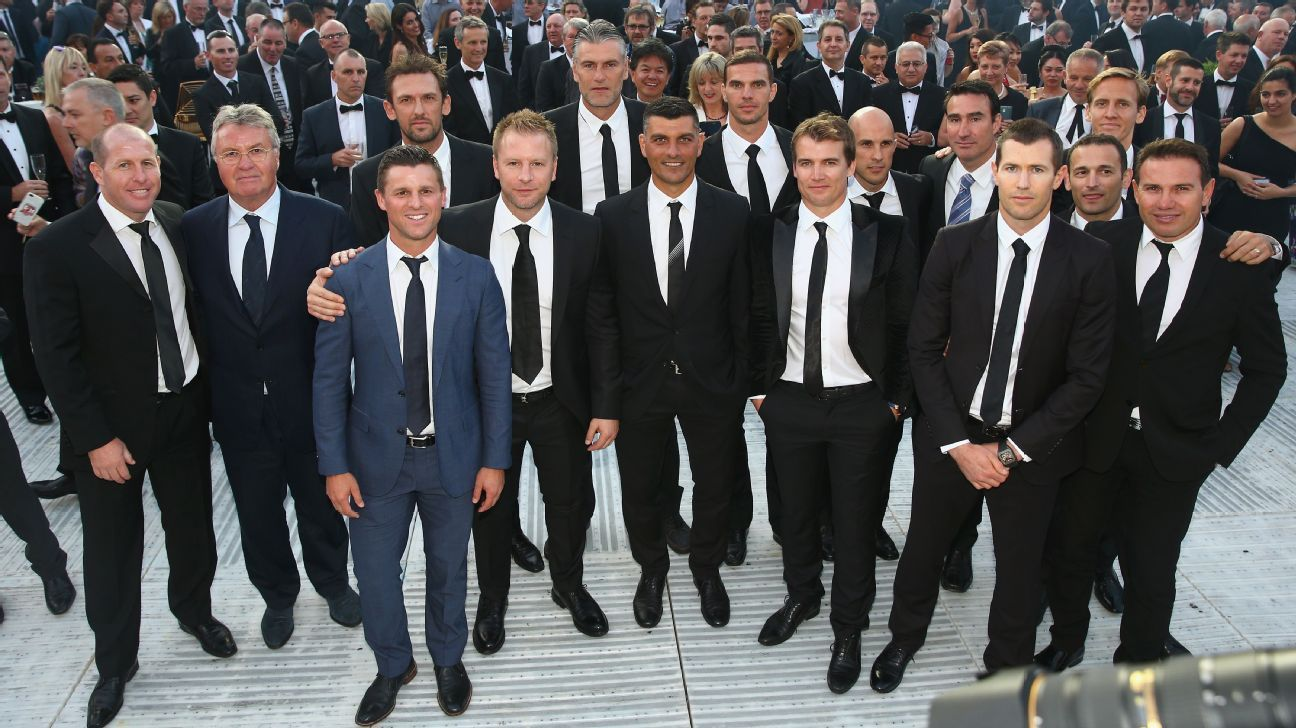 Australia 2005 playoff team reunion in 2015