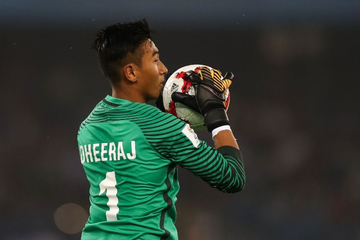 Dheeraj Singh, 18, is almost certainly going to be Kerala Blasters' first-choice keeper ahead of more experienced candidates.