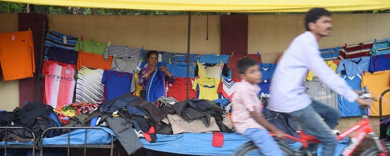 Parameshwari Stalin, Sanjeev's mother, runs a small garment shop in Bengaluru.