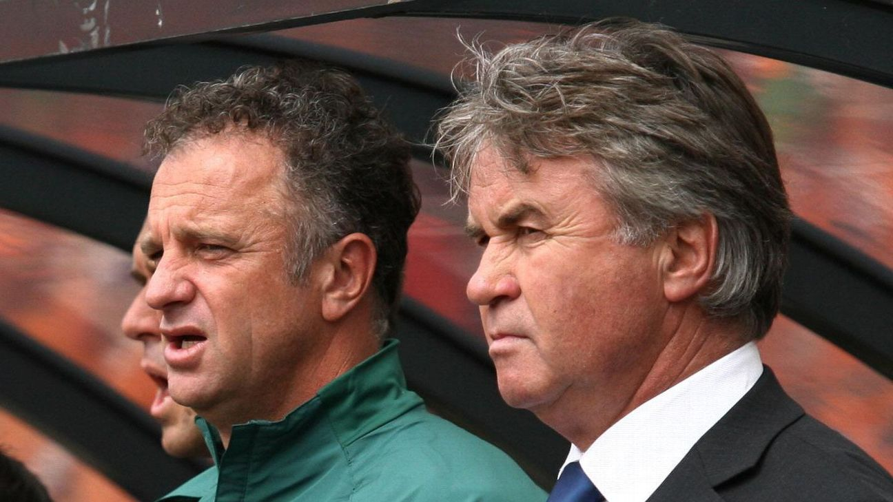 Graham Arnold & Guus Hiddink