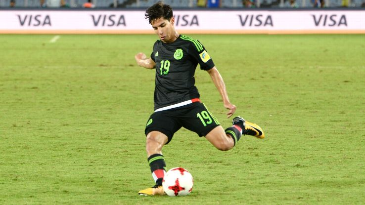 Diego Lainez is one of the brightest young talents for Mexico.