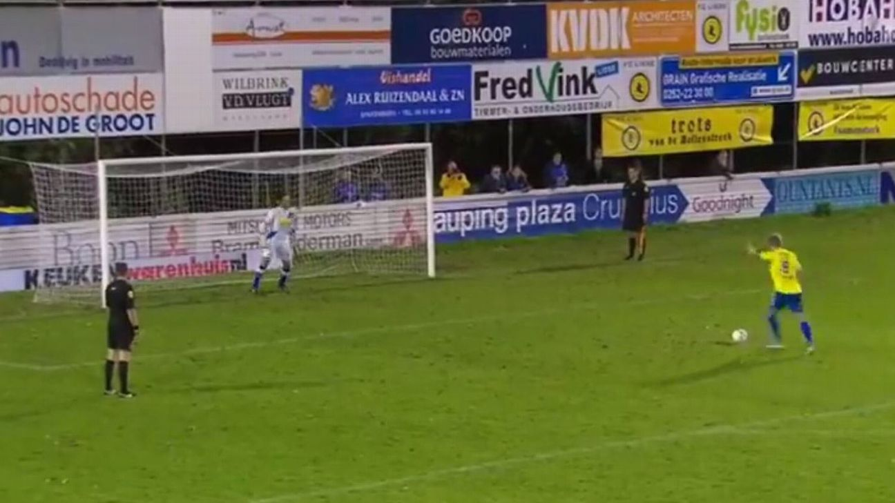 Dutch Cup penalty shootout replayed - three weeks after original match