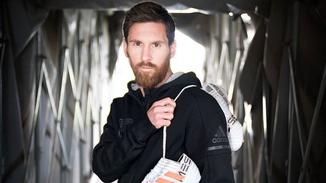 Lionel Messi has name emblazoned across new custom boots