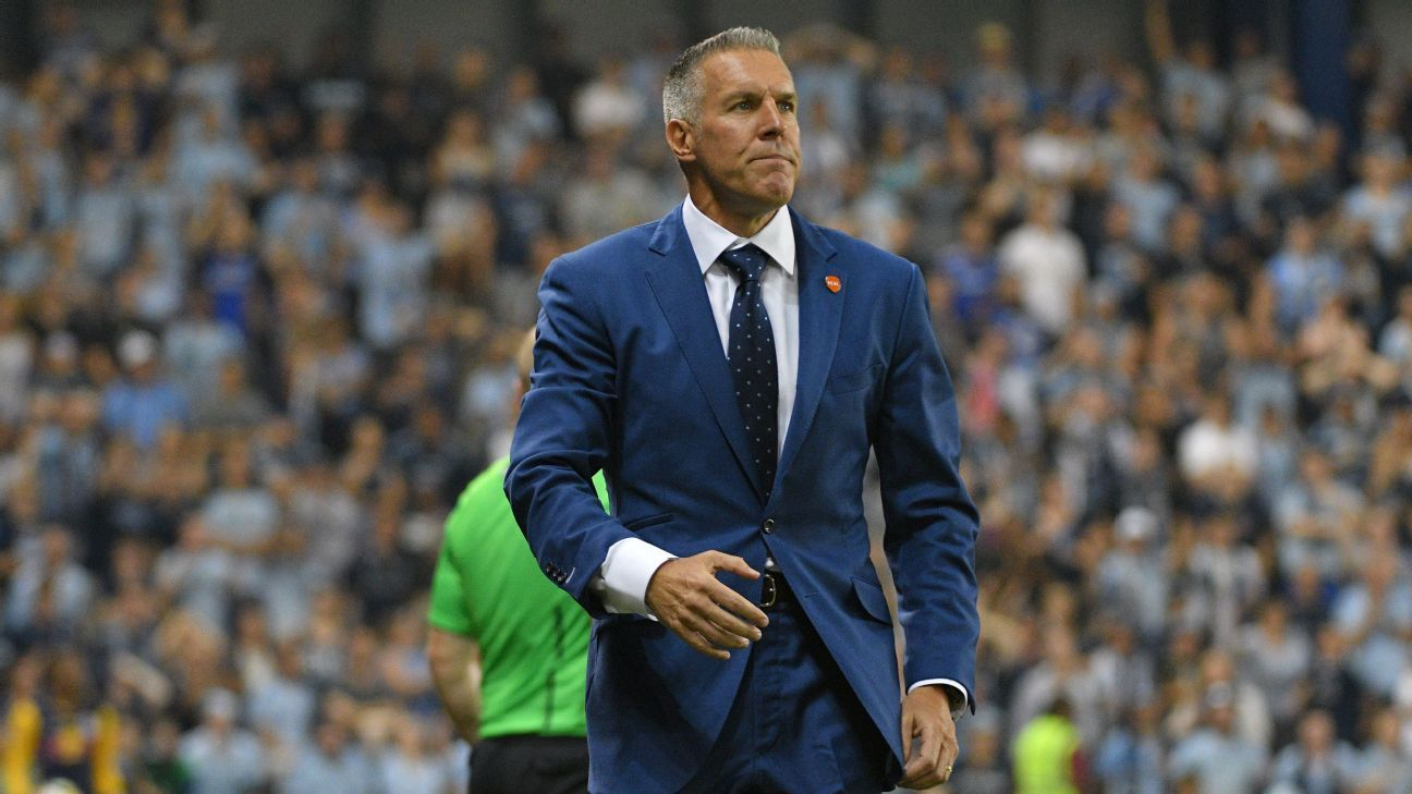 Sporting KC, Peter Vermes win MLS' newly created exec and academy awards