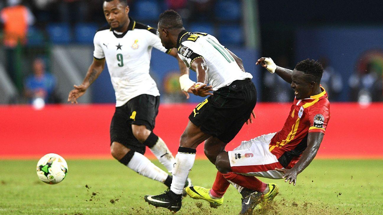 Ghana Uganda