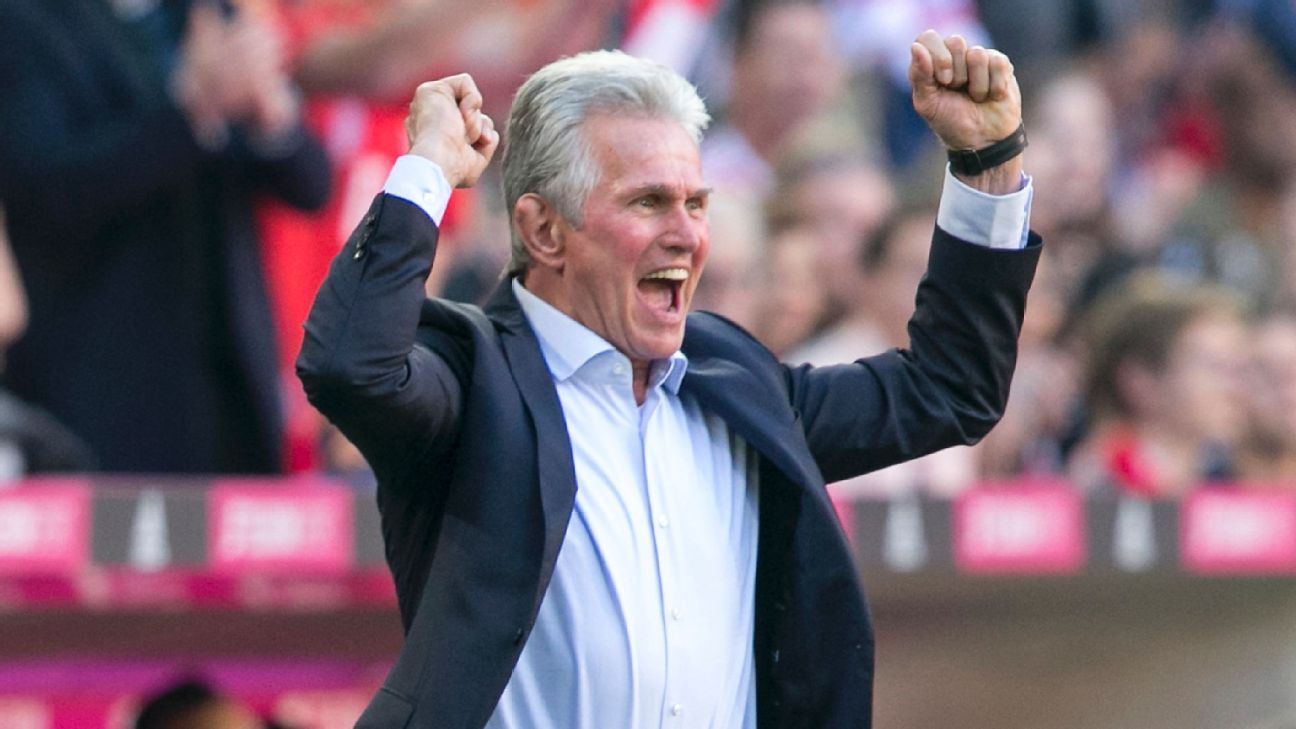 jupp heynckes 39 bayern munich ease past freiburg leipzig beat dortmund espn fc news howldb. Black Bedroom Furniture Sets. Home Design Ideas