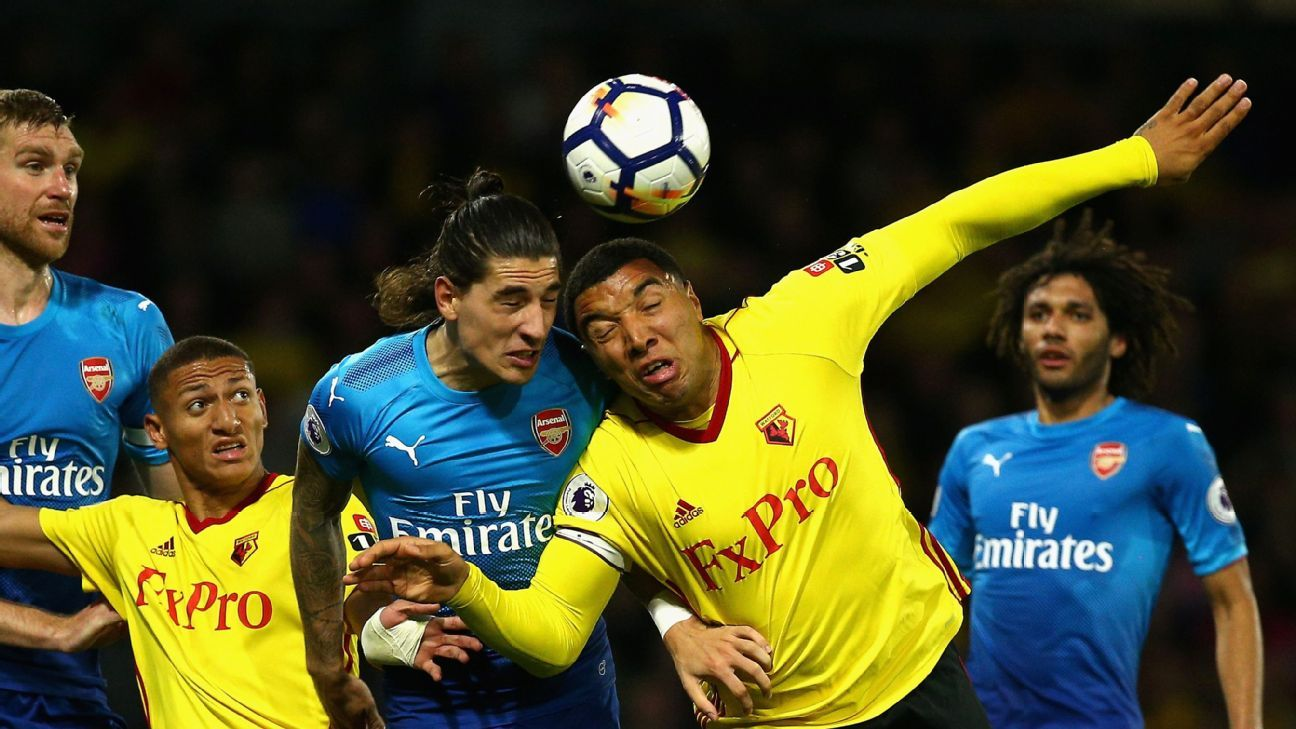 Hector Bellerin & Troy Deeney