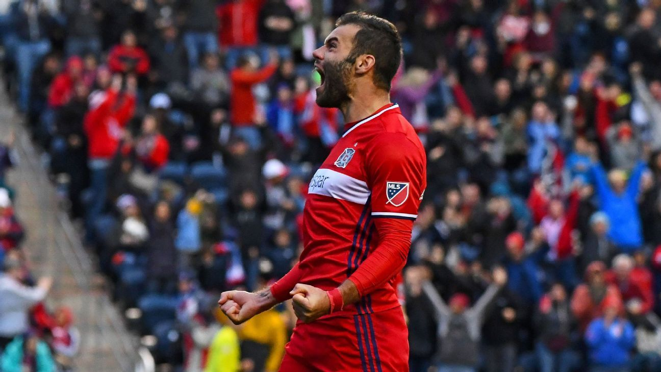 Chicago Fire's Nemanja Nikolic wins MLS Golden Boot award with 24 goals