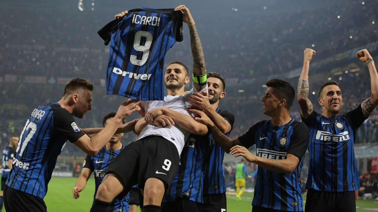 Inter Milan's Mauro Icardi - 'A hat trick in a derby is a
