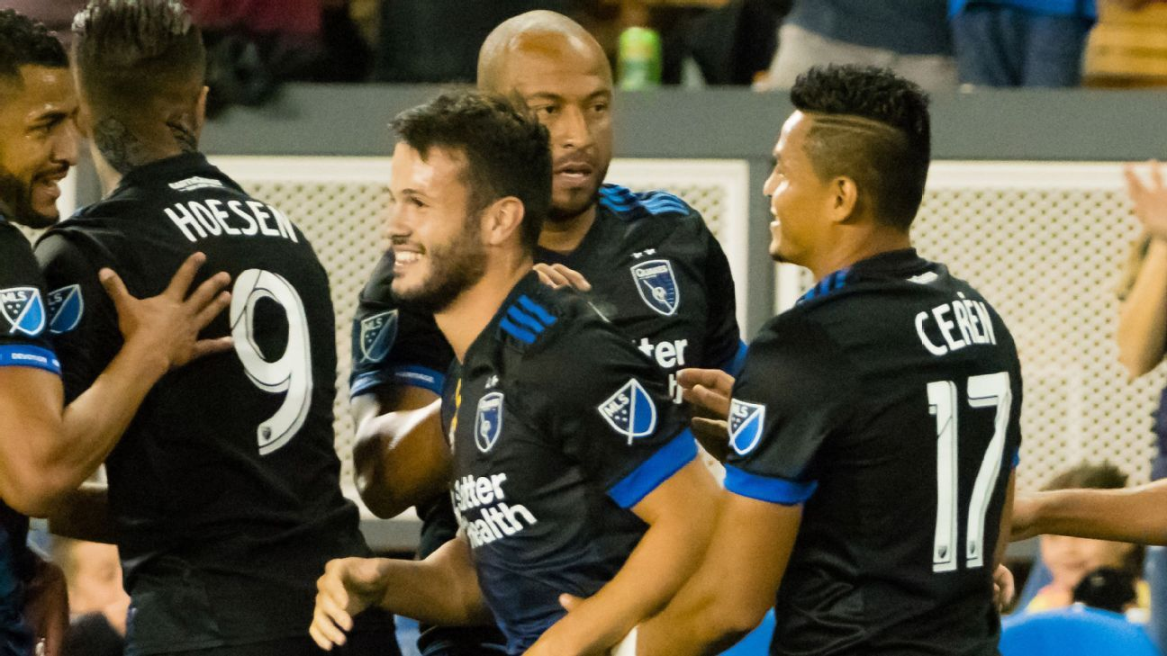 San Jose slides into pole position for final playoff place as MLS races tighten