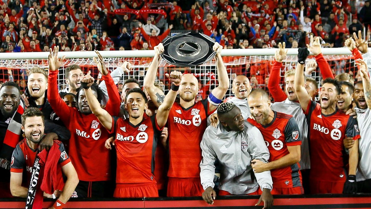 Toronto ties MLS record for most points in a season, Seattle up to No. 2