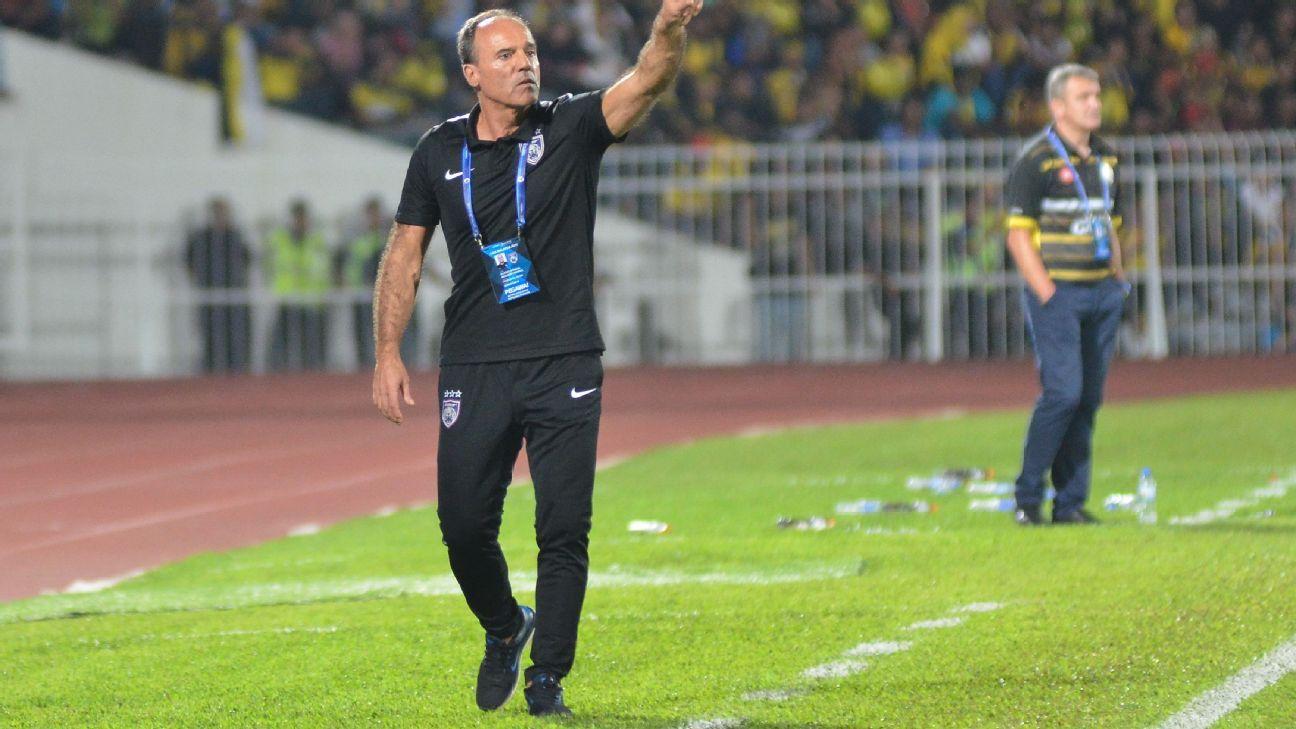JDT coach Ulisses Morais