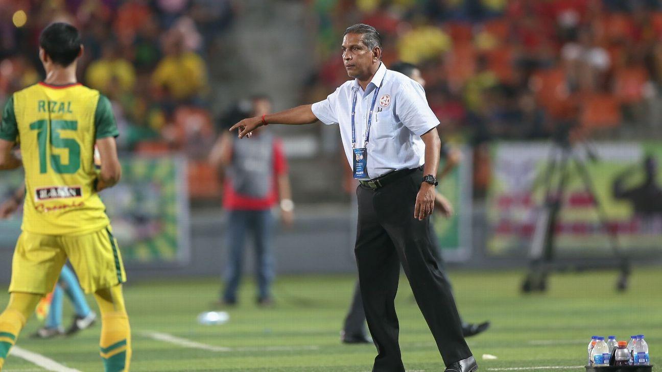Felda United coach B. Satianathan