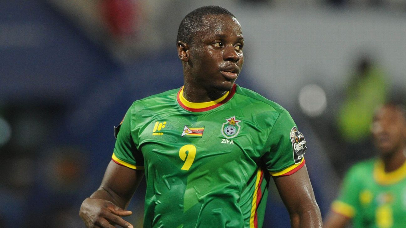 Nyasha Mushekwi of Zimbabwe will undergo surgery in November.