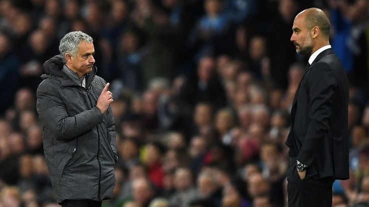 The arrival of Jose Mourinho and Pep Guardiola illustrate just how big time the Manchester derby has become globally.