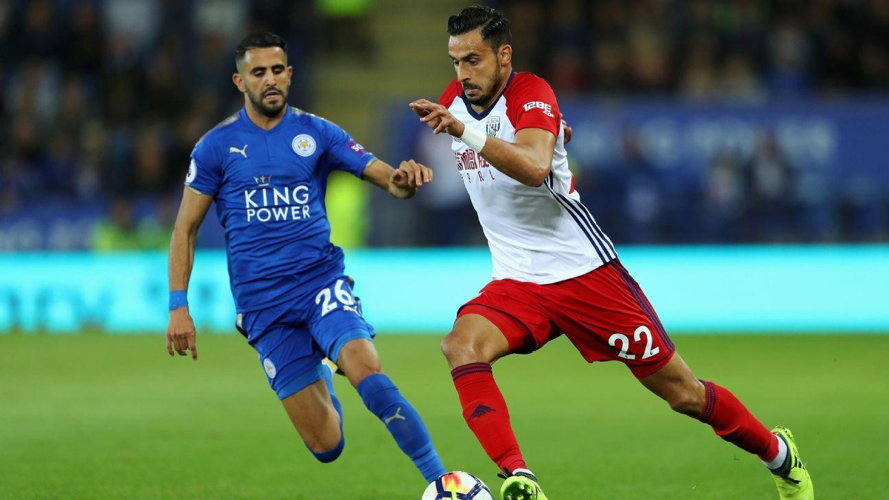Riyad Mahrez and Nacer Chadli scored the goals in Monday's 1-1 draw.