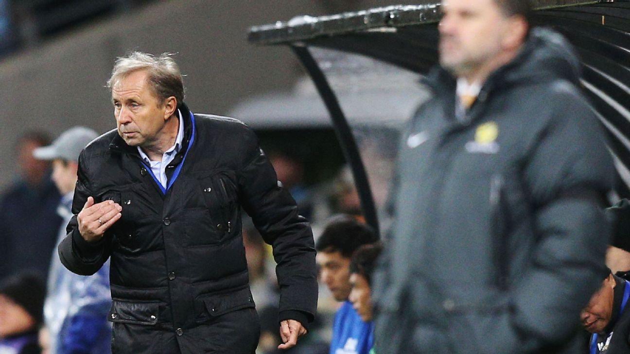 Thailand head coach Milovan Rajevac