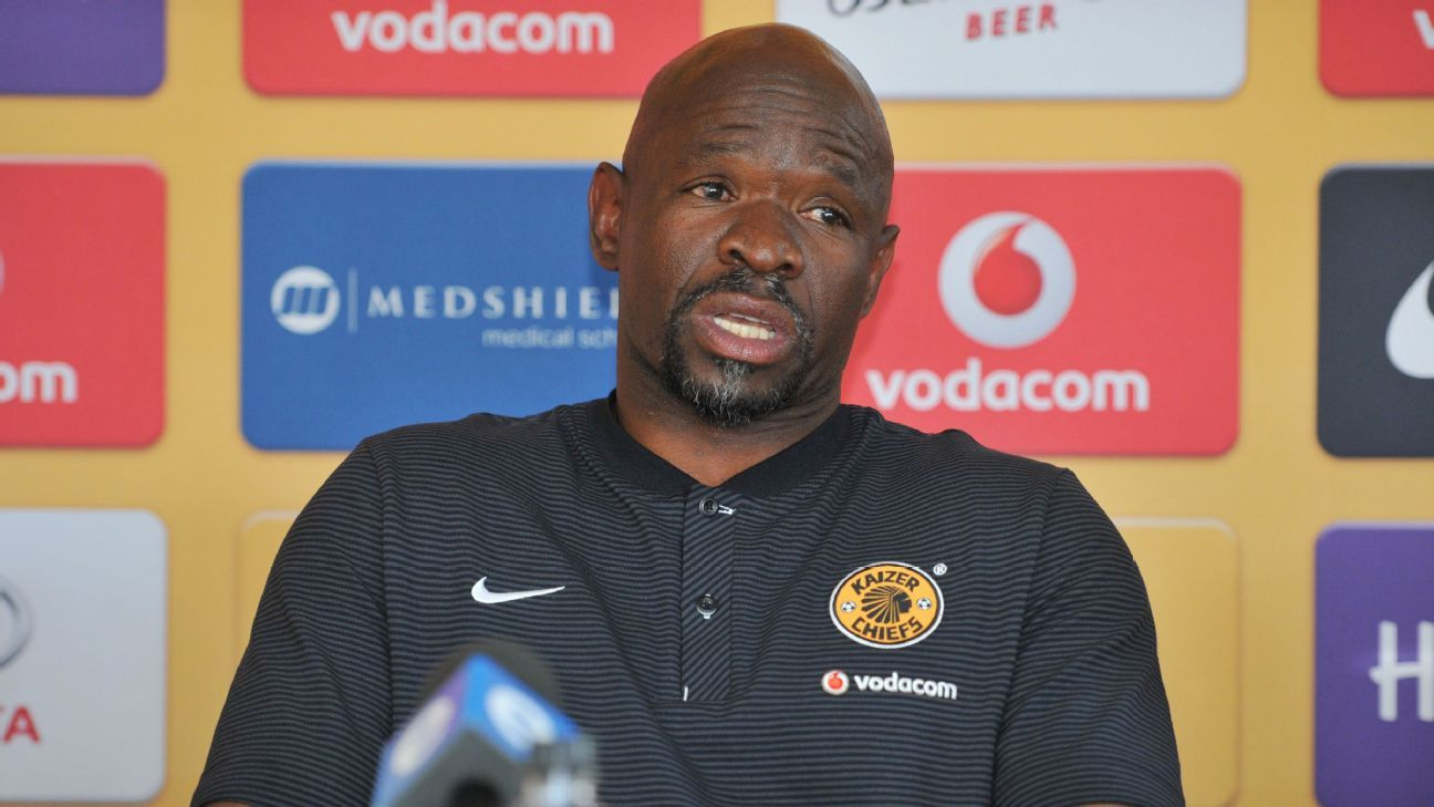 Steve Komphela of Kaizer Chiefs