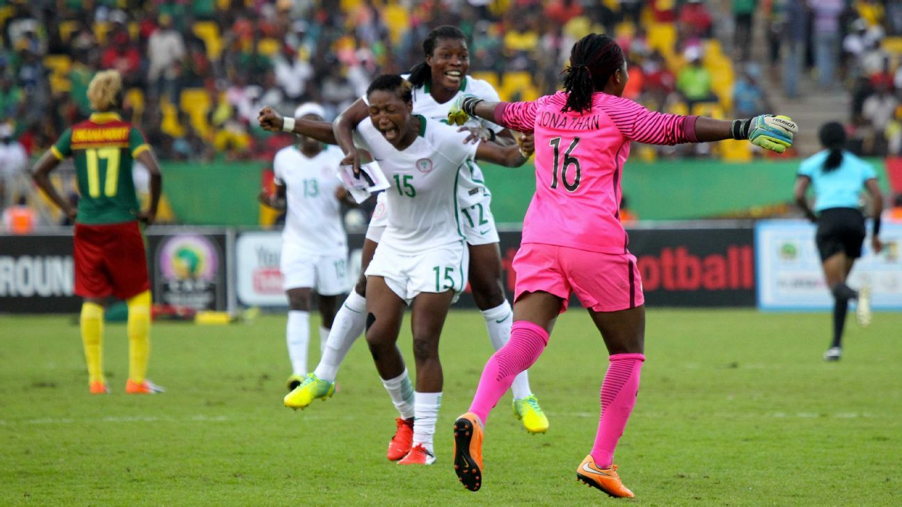 Nigeria's Super Falcons won the 2016 Women's African Cup of Nations, and will be looking to retain their title.