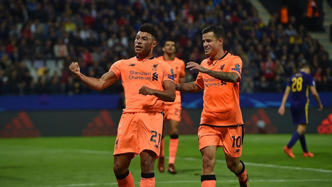 Alex Oxlade-Chamberlain ready to seize his chance with Liverpool