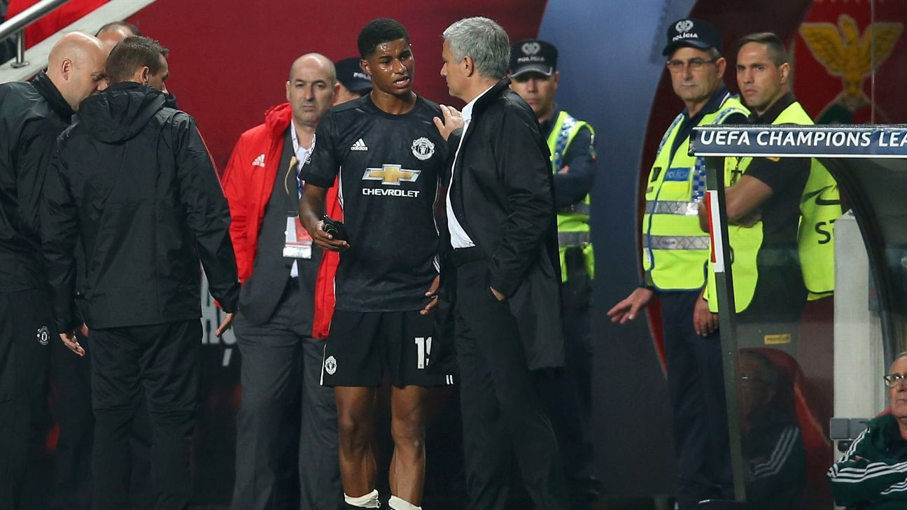 Mourinho can't afford to be without Man United talisman Rashford for long
