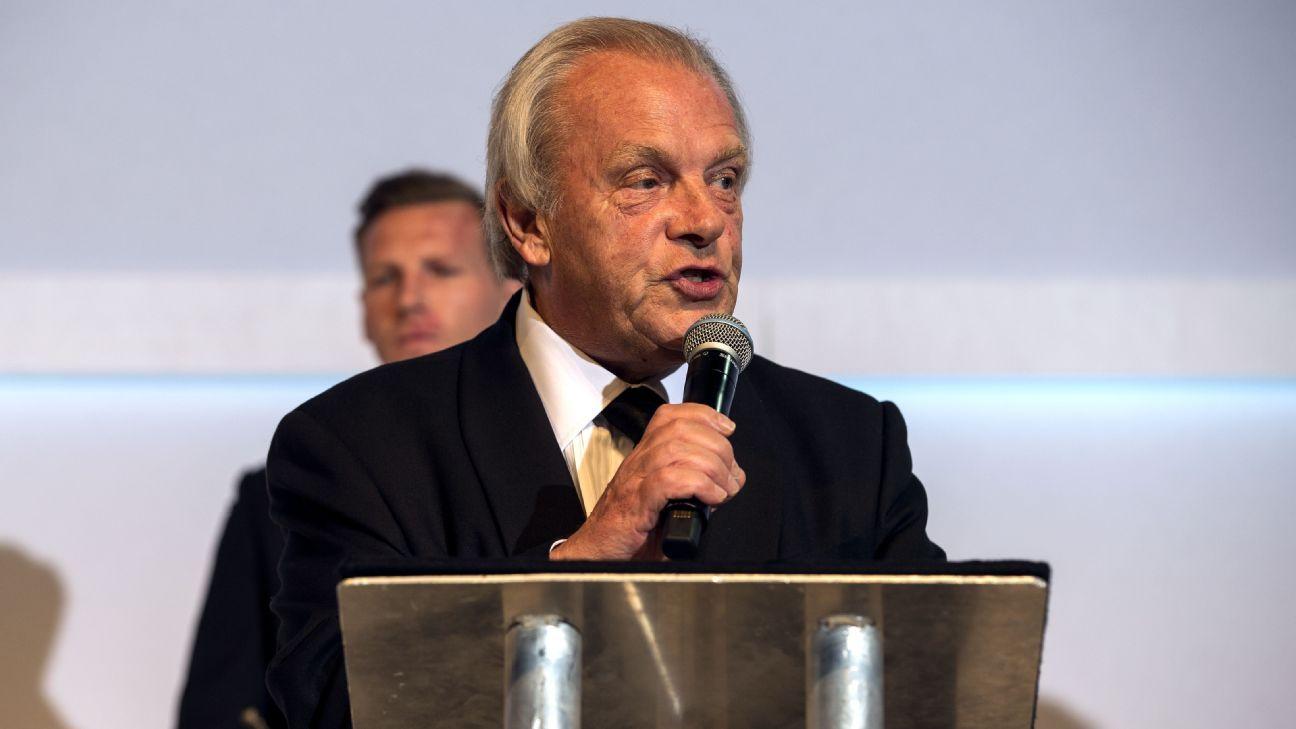 PFA's Gordon Taylor slams FA's Greg Clarke in tense committee exchange