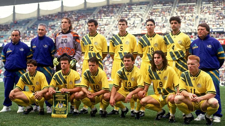 Australia vs. Canada 1993 World Cup playoff