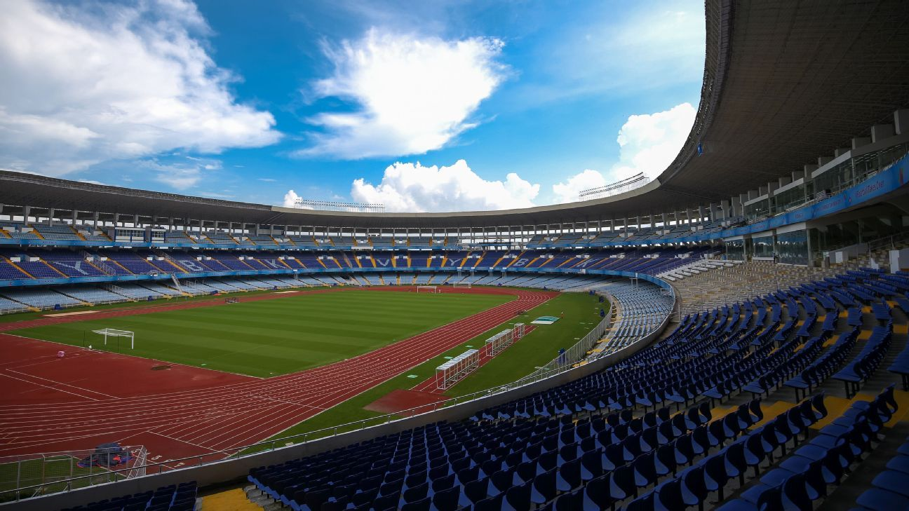 Kolkata's Salt Lake Stadium will host the Germany vs Brazil quarterfinal, as well as the third place play-off and final of the U-17 World Cup.