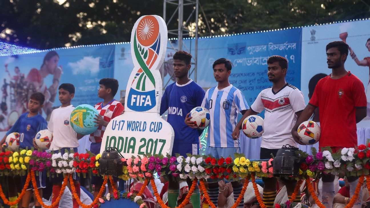 Such is the passion for football in Kolkata that the U-17 World Cup featured in Kolkata's Durga Puja festival celebrations earlier in October.