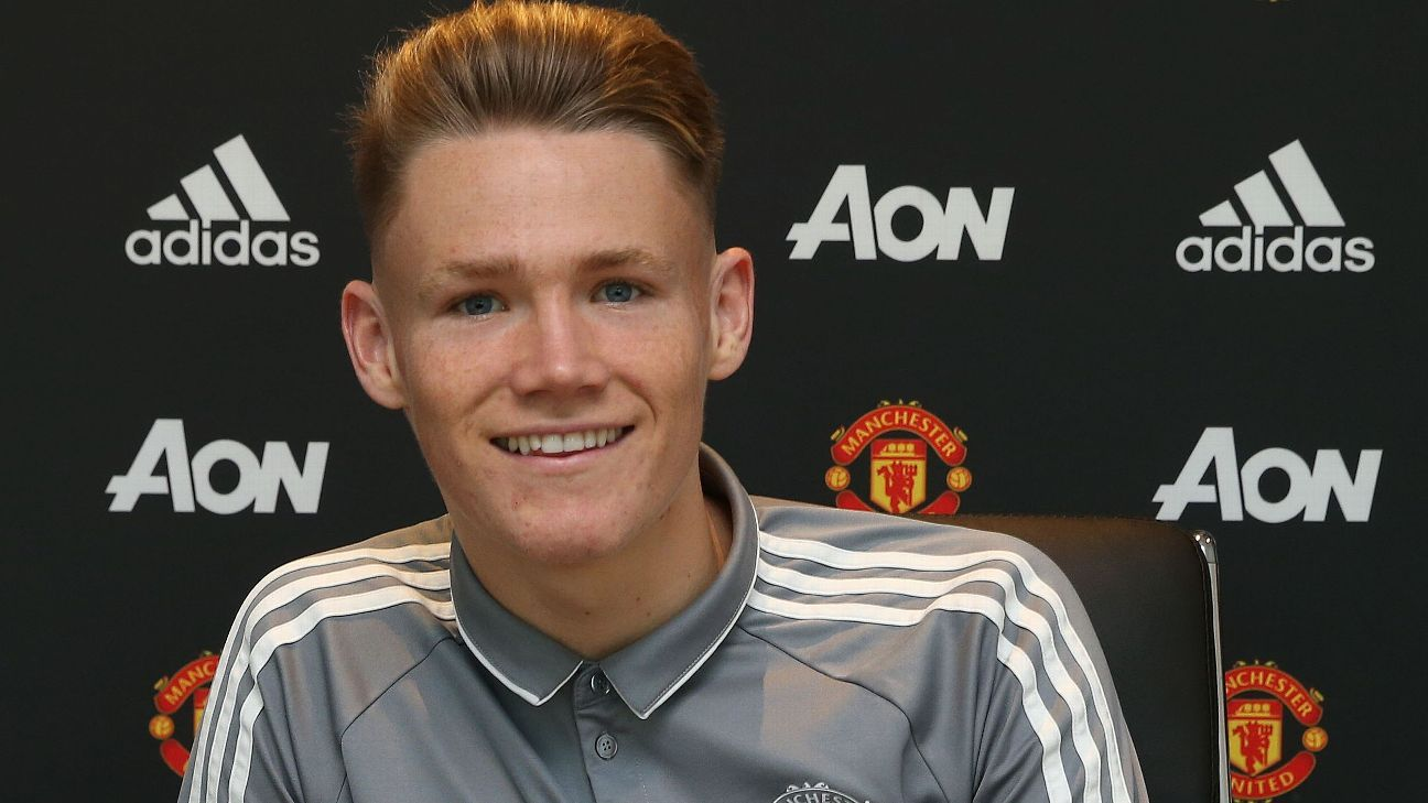 Jose Mourinho 'delighted' as Scott McTominay signs new contract