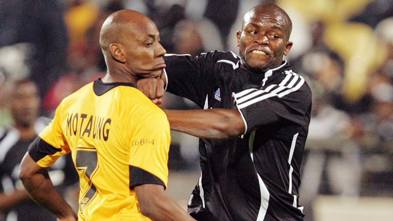 Kaizer Motaung Jr. and Tonic Chabalala