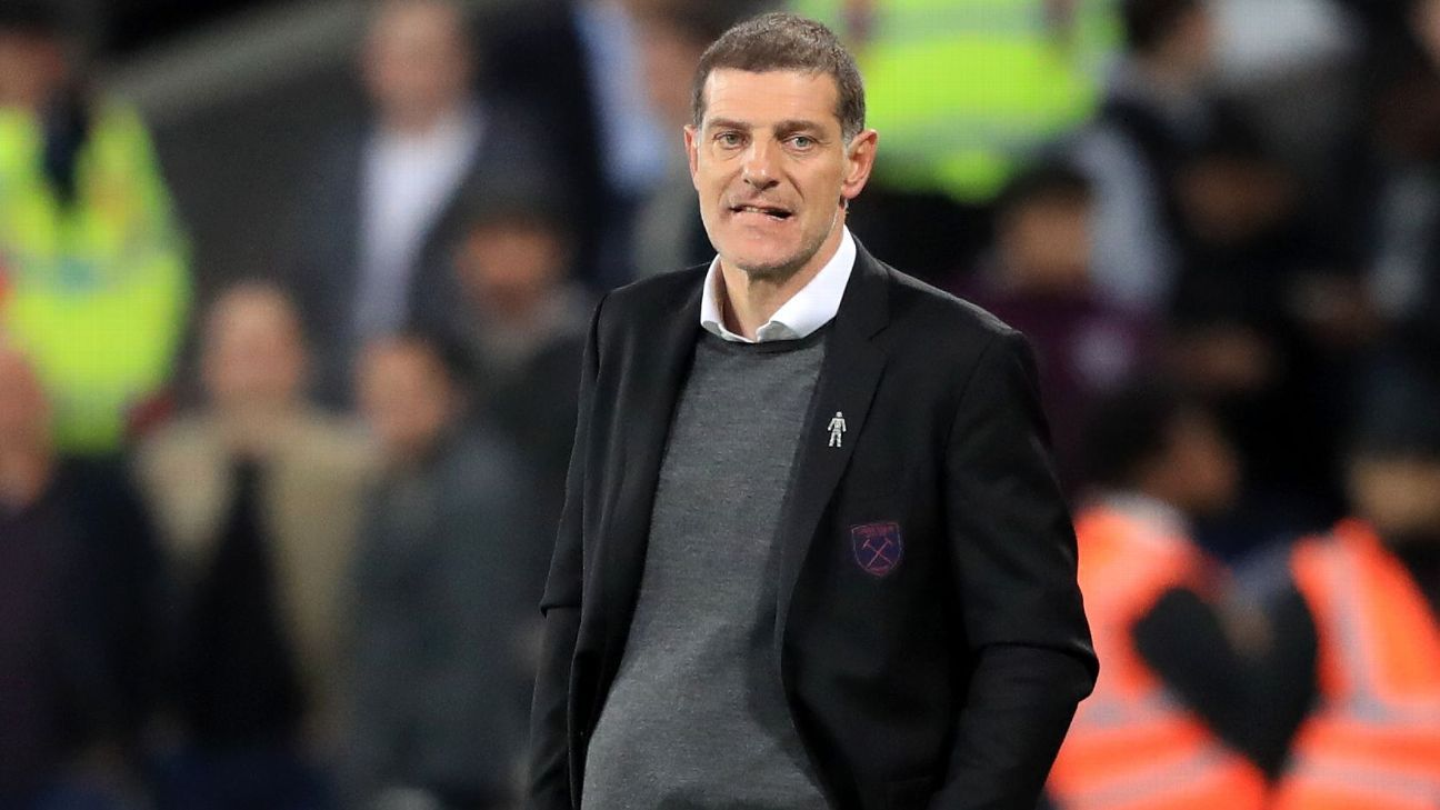 Slaven Bilic was sacked by West Ham last season.