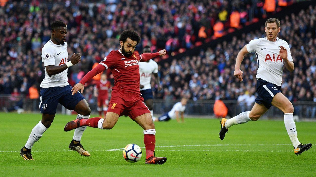 Mohamed Salah goal v Tottenham 20171022
