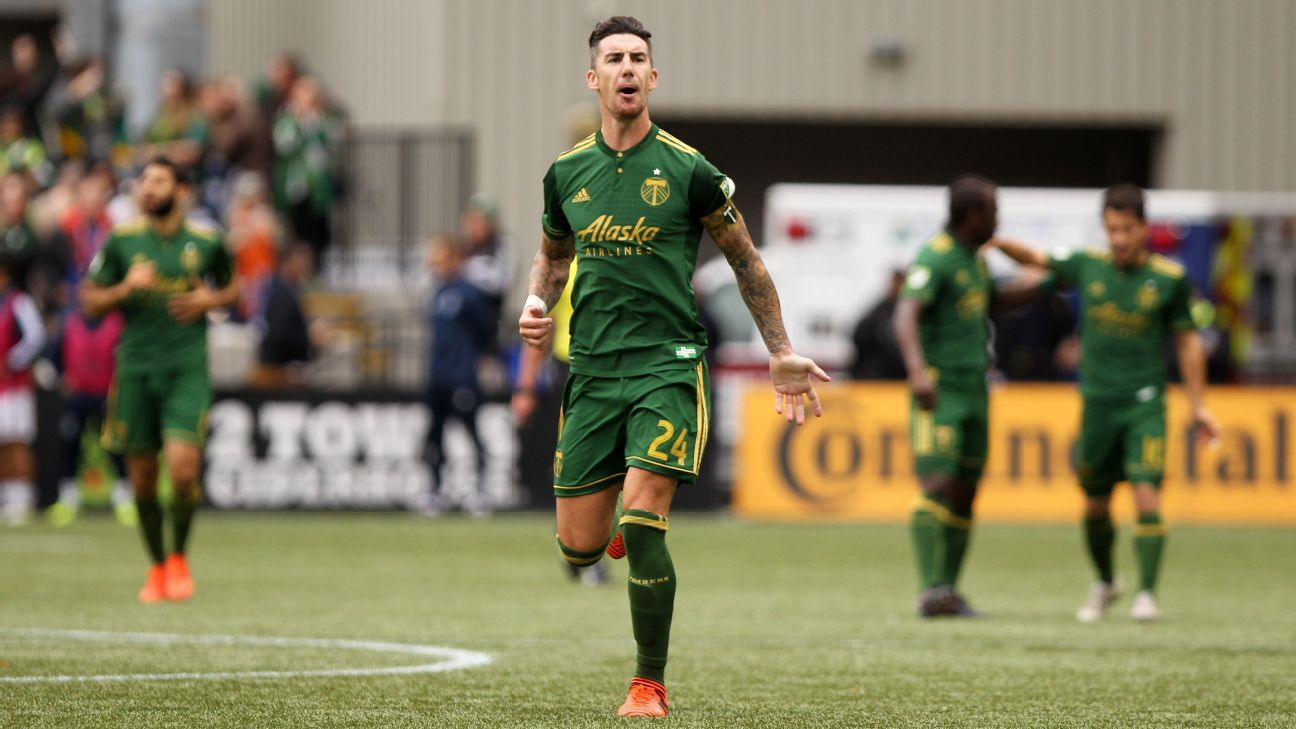 Portland Timbers and defender Liam Ridgewell part ways by mutual consent