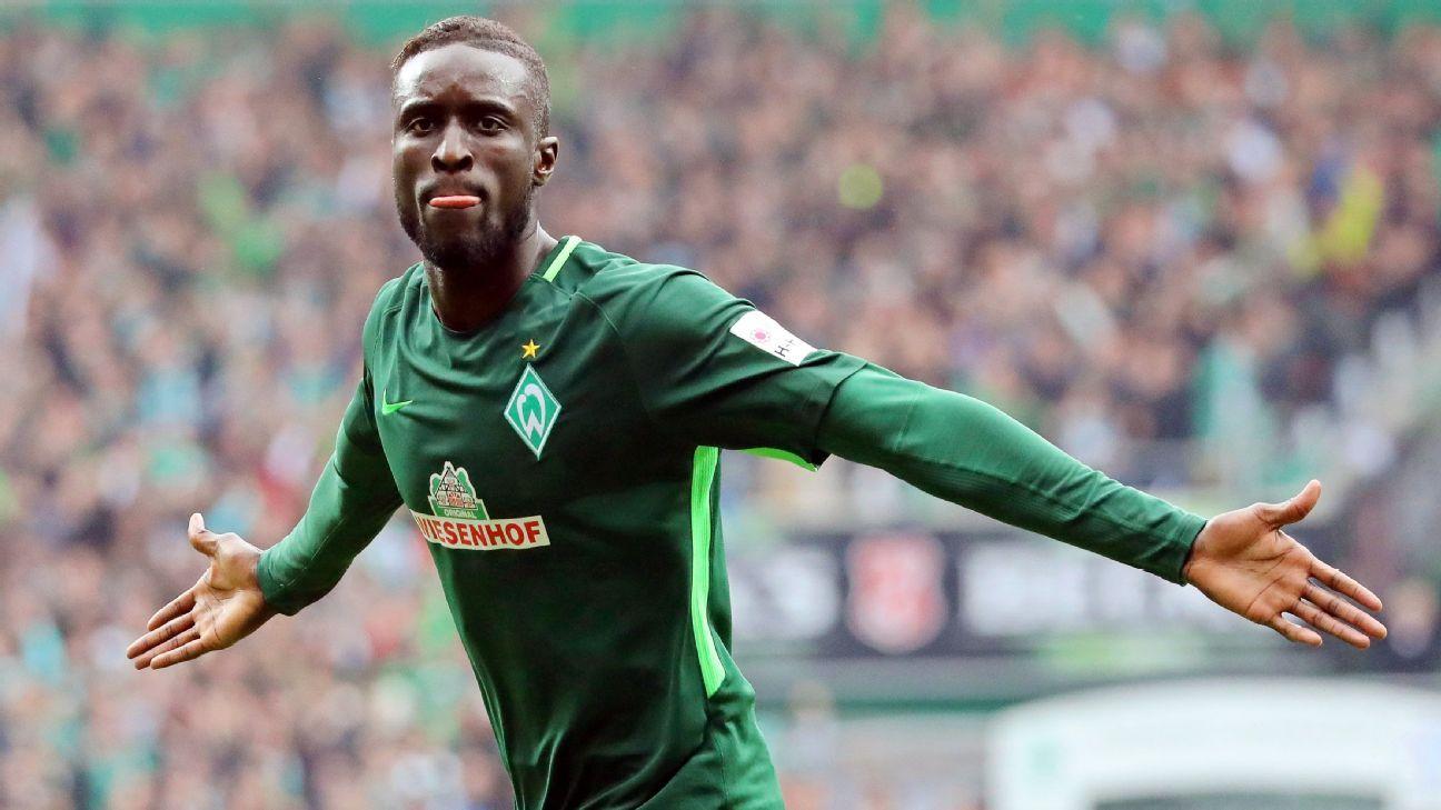 Lamine Sane of Werder Bremen