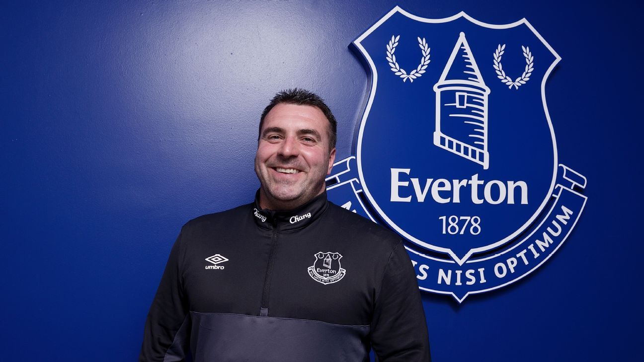 David Unsworth is an academy coach at Everton.