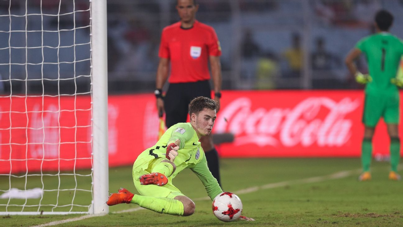 England goalkeeper Curtis Anderson saved a penalty, and scored one, against Japan, while Brazil are just as well-prepared for spot kicks.