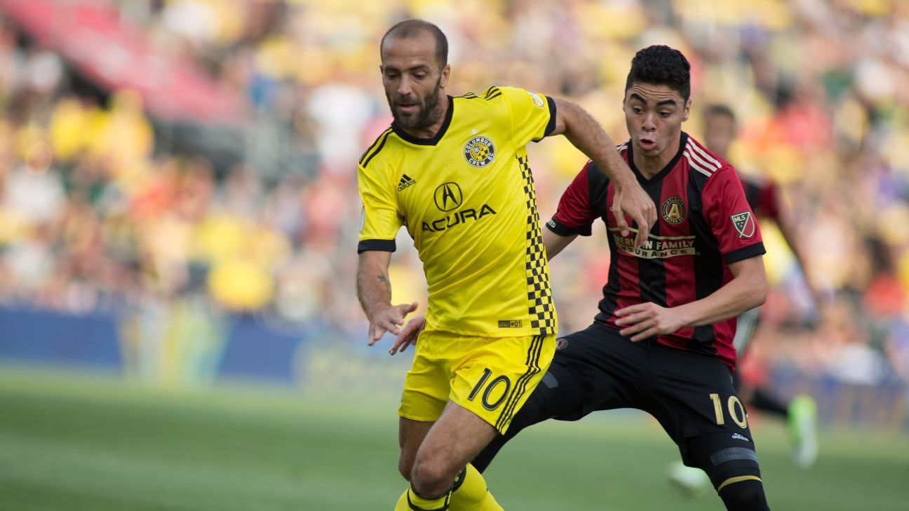 Federico Higuain and Miguel Almiron