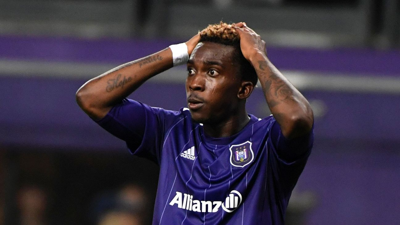 Henry Onyekuru has been sidelined since December after surgery.